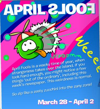 April Fool's Party Invite
